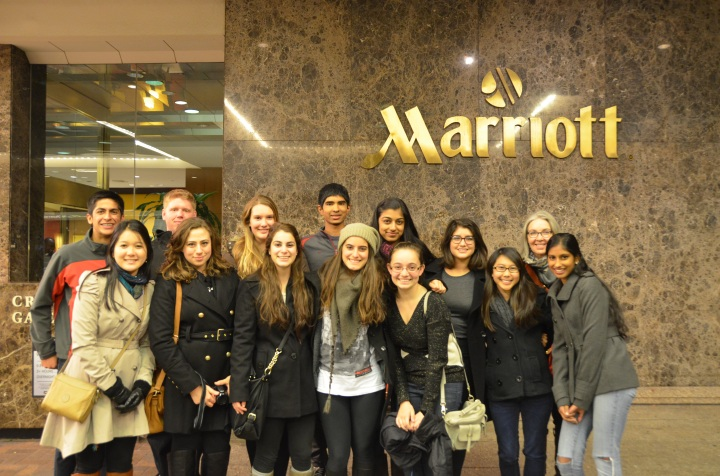 MAP Students have arrived in Washington